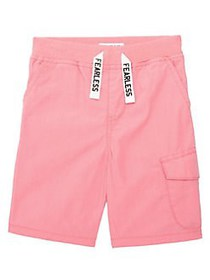 Flapdoodles Little Boys Drawstring Cargo Shorts CO