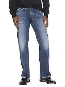 Silver Jeans Co Zac Relaxed Straight Jeans MEDIUM