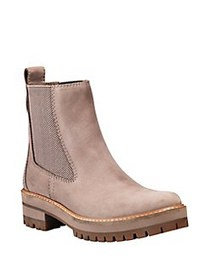 Timberland Courmayeur Leather Chelsea Boots TAUPE