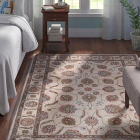 Baranof Beige/Brown Area Rug