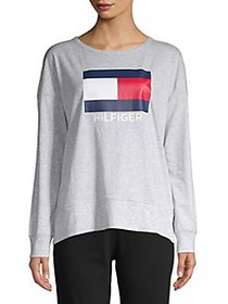 Tommy Hilfiger Performance Logo Crewneck Sweatshir