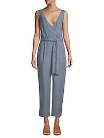 French Connection Julienne Striped Belted Jumpsuit