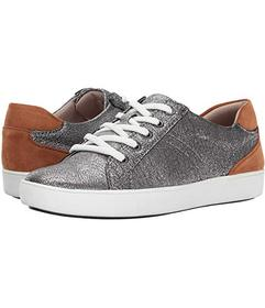 Naturalizer Silver Metallic Crackle Leather
