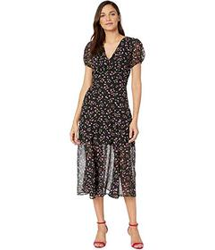 Betsey Johnson Cherry Print Maxi Dress
