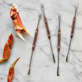 Williams Sonoma Seafood Picks, Set of 4