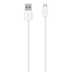 Belkin 4 ft Micro-USB to USB ChargeSync Cable, Whi