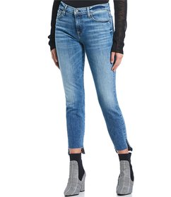 7 for all mankind Released Raw Hem Ankle Jeans