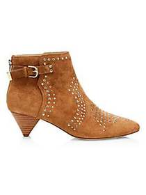 Joie Bickson Studded Suede Booties CANYON