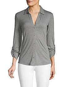 C&C California C&C California Tab Sleeve Blouse