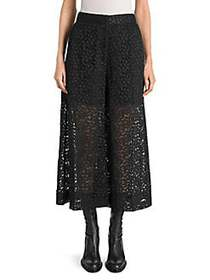 Stella McCartney Lace Culottes BLACK