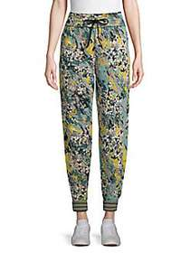 M Missoni Printed Trousers BLACK