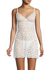 Natori Floral Lace Chemise IVORY