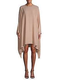 Valentino Fluid Silk Dress BEIGE