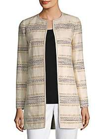 Lafayette 148 New York Pria Jacket BUFF MULTI
