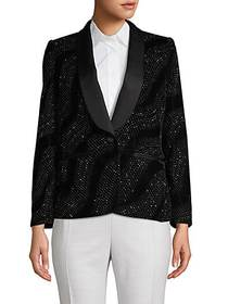 Marc Jacobs Marc Jacobs Embellished Shawl-Collar B