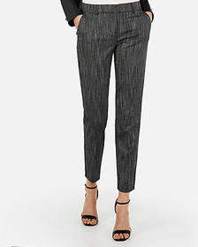 Express mid rise printed columnist ankle pant