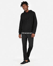 Express double knit EXP popover hoodie