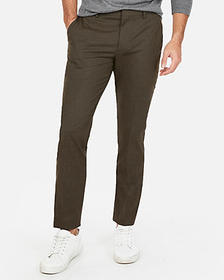 Express extra slim wrinkle resistant dress pant
