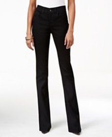 Style & Co Tummy-Control Bootcut Jeans, Created fo