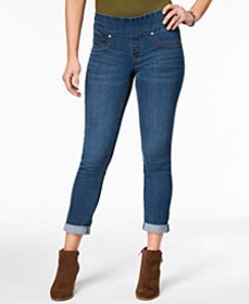 Style & Co Pull On Boyfriend Jeans, Created for Ma
