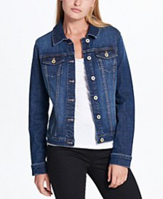 Tommy Hilfiger Cotton Denim Jacket, Created for Ma