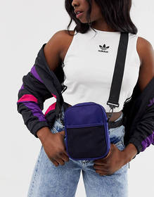 ASOS DESIGN harness cross body bag with detachable