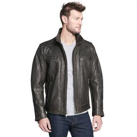 Wilsons Leather Vintage Leather Faded-Seam Cycle J