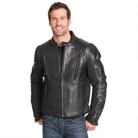 Wilsons Leather Performance Padded Leather Motorcy