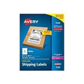 Avery Internet Laser Shipping Labels, 5 1/2 x 8 1/