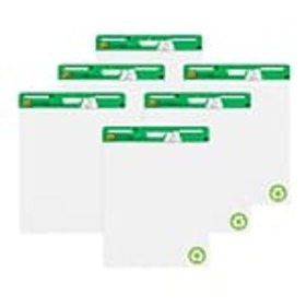 Post-it® Easel Pad, 25 x 30, Recycled, White, Pack