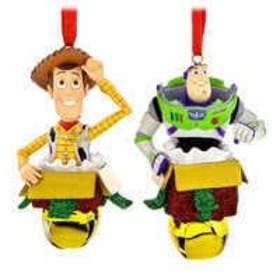 Disney Woody and Buzz Lightyear Figural Ornament S