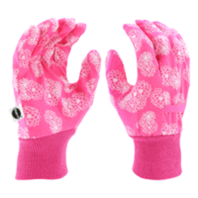 Miracle Gro Knit Wrist Canvas Glove