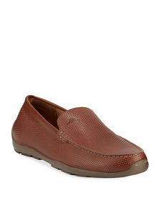 Tommy Bahama Men's Acanto Leather Slip-On Loafers