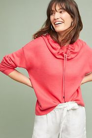 Anthropologie Gracie Cowl-Neck Pullover