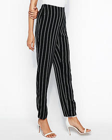 Express high waisted double stripe trouser pant