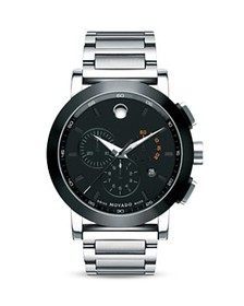 Movado - Movado Museum Sport™ Chronograph Stainlee