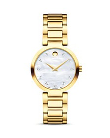 Movado - Modern Classic Diamond Watch, 28mm