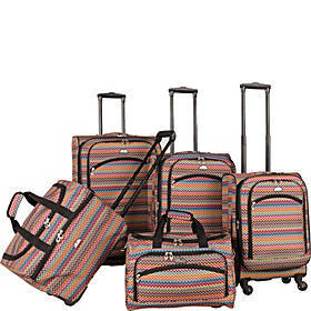 American Flyer Gold Coast 5-Piece Luggage Set