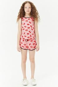 Forever21 Girls Graphic Tank Top (Kids)
