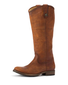 Frye Melissa Button Tall Leather Boots