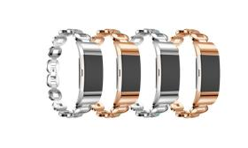 Band for Fitbit Charge 2, Jewelry Rhinestone