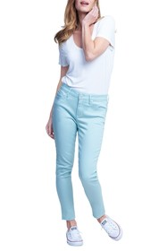 Seven7 Mid Rise Skinny Ankle Jeans