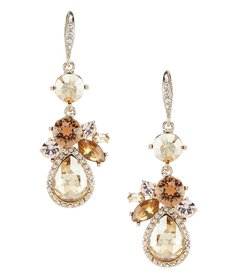 Givenchy Cluster Drop Earrings
