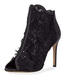 Charles David Camilla Embellished Ankle Booties
