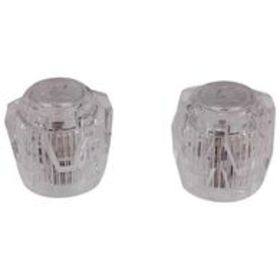 Faucets Acrylic Knob-Style Handle Replacement Set,