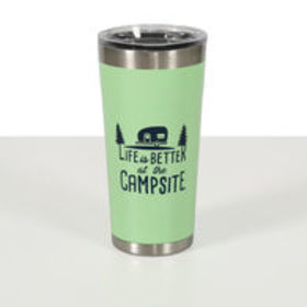 Life is Better at the Campsite Insulated Tumbler,