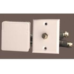 Cable TV Weatherproof Interior/Exterior Connector