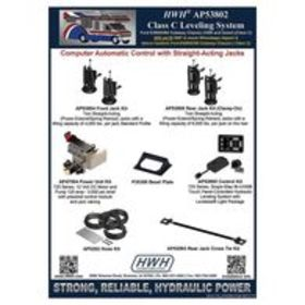 HWH 725 Series Class C Leveling System for Ford E3