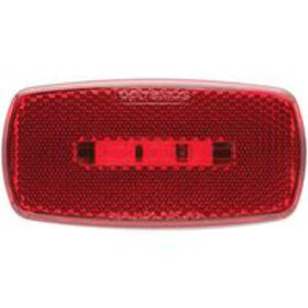 Oval LED Clearance/Marker Light; Replaceable Lens;