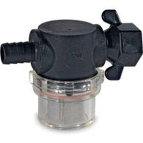 """Shurflo Swivel Nut Strainer with 1/2"""" Barb In"""